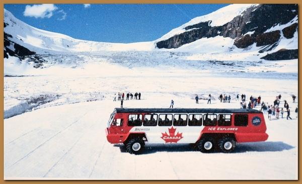 Canada columbia icefield glacier for Cabine di pesca nel ghiaccio alberta