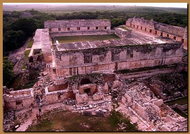 Messico yucatan uxmal for Piani del centro di intrattenimento della fattoria