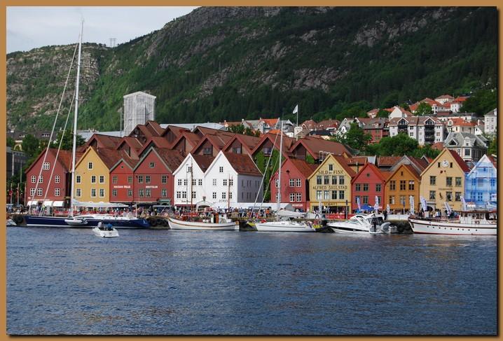 Norvegia Bergen Porto