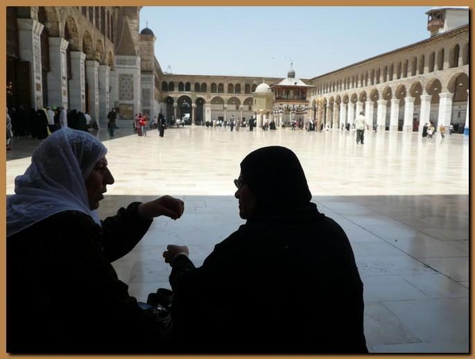 Siria damasco moschea omayade for Citta della siria che da nome a un pino