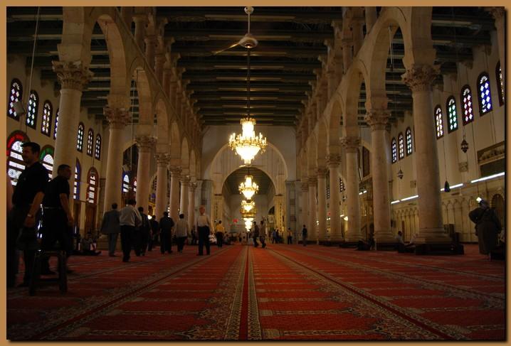 siria damasco moschea omayade