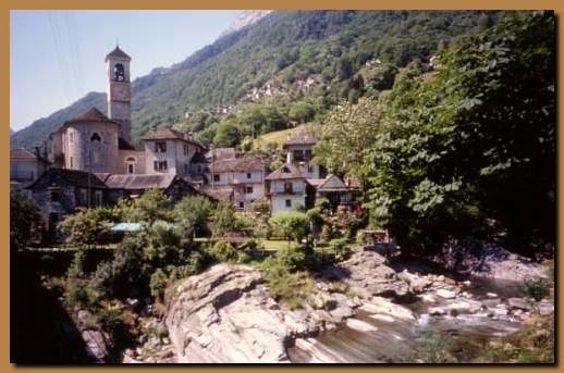 Svizzera cantone ticino val verzasca for Val verzasca dove fare il bagno